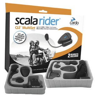 scala rider q2 multiset pro for half helmets bluetooth stereo helmet headset and intercom. Black Bedroom Furniture Sets. Home Design Ideas