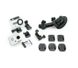 GoPro HD Motorsports HERO Package Contents